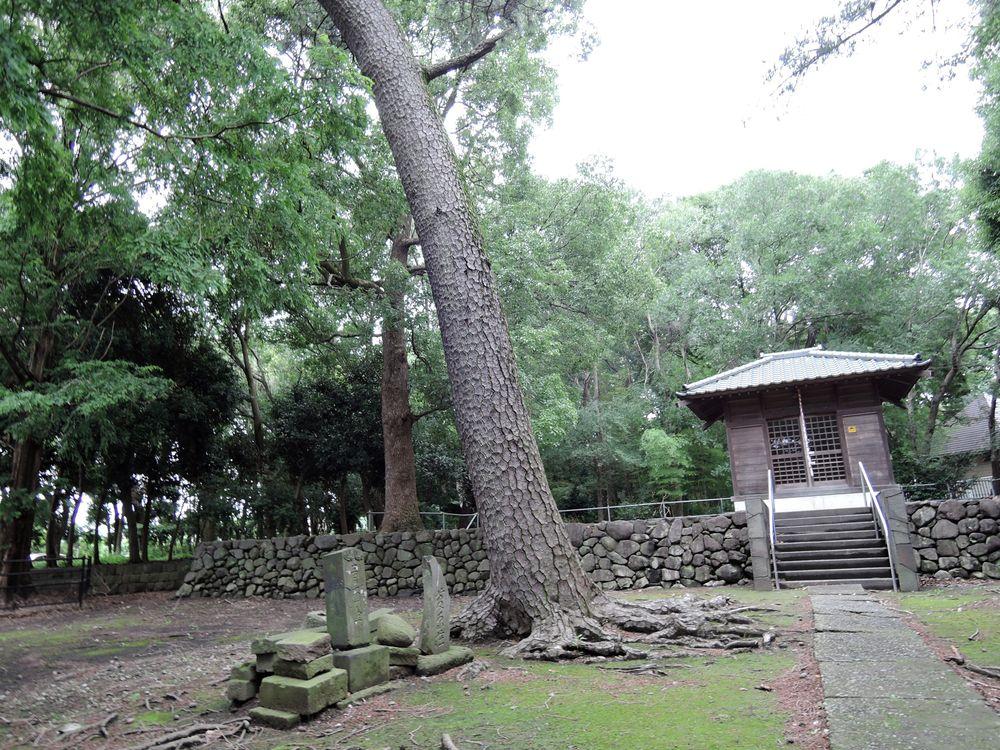 中新田稲荷神社(越巻稲荷神社)の歴史と石仏|越谷市新川町二丁目