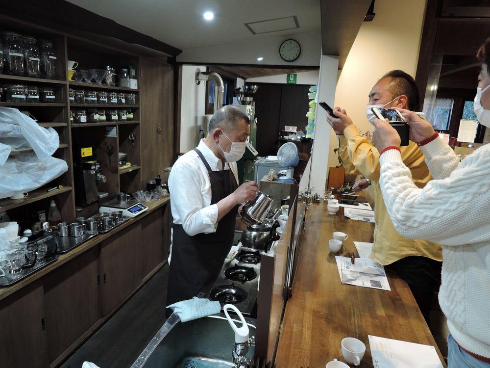 コーヒー教室|珈家(越谷市下間久里)