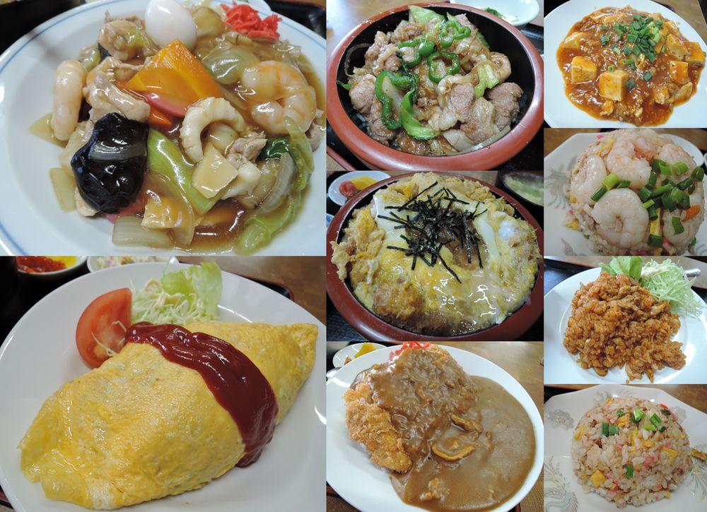 越谷市宮本町・高柳亭の中華ご飯類メニュー全13品を食べ尽くす。