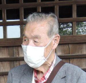 越谷市郷土研究会会長・渡邊氏